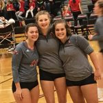 Varsity Volleyball honors Seniors