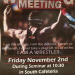Wrestling Meeting and Information