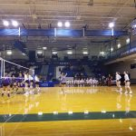 Marshall Volleyball wins against Fowlerville