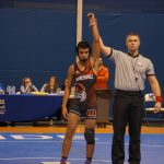 Marshall Wrestling falls to Harper Creek 52 – 28