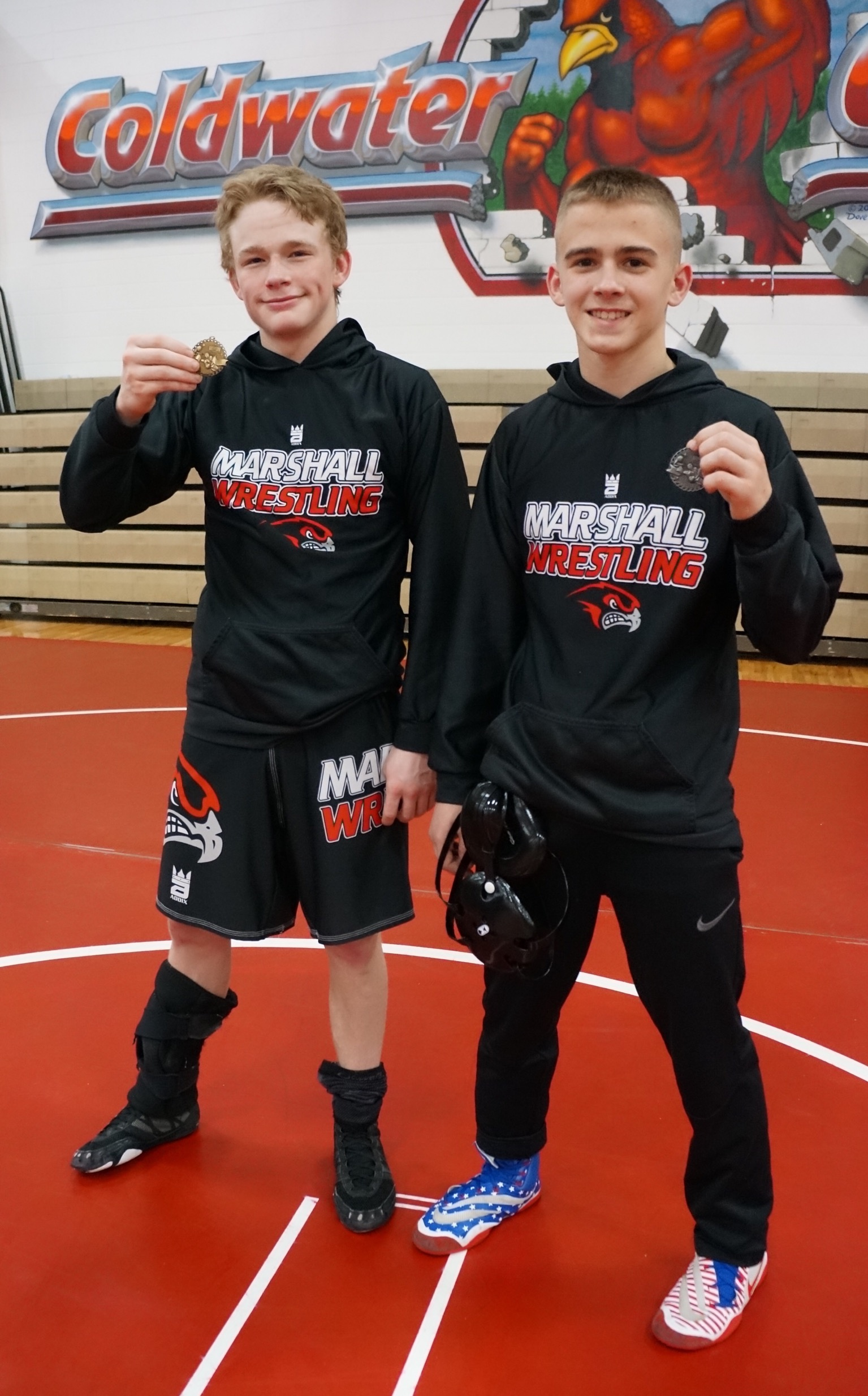 Marshall wrestlers travel to Coldwater