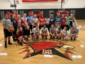 Girls Basketball Free Throw-a-thon 2019