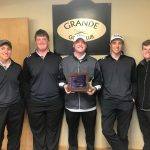 Marshall Varsity Golfers Claim 1st Place at Onsted