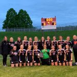 Girls' Soccer wins I-8 Tournament