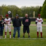 Marshall Varsity Baseball Senior Night 2019 vs Jackson Northwest