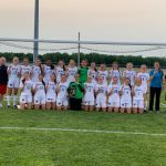 Girls' Soccer Team are District Champs