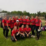 Marshall RedHawks Varsity Softball loses to Olivet in Districts
