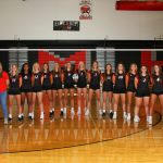 Girls Varsity Volleyball beats Coldwater 3 – 1