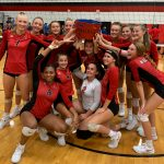 Girls Varsity Volleyball v. Harper Creek