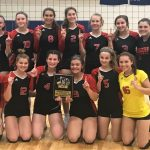Girls JV Volleyball Wins Harper Tournament