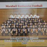 2009 State Championship Football Team Friday 10/18/19