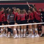 Varsity Volleyball Tops Northwest