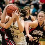 Girls Varsity Basketball beats Pennfield 52 – 43