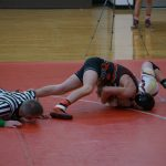 Marshall Varsity Wrestling falls at (Coldwater Quad)