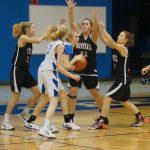 Girls 8th Grade A Basketball beats Harper Creek Middle School 36 – 13