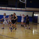 Girls 8th Grade B Basketball beats Harper Creek MS 48 – 10