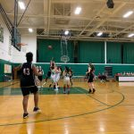 Girls 8th Grade B Basketball beats Pennfield MS 47 – 13