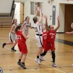 Girls 8th Grade A Basketball beats Coldwater 46 – 26