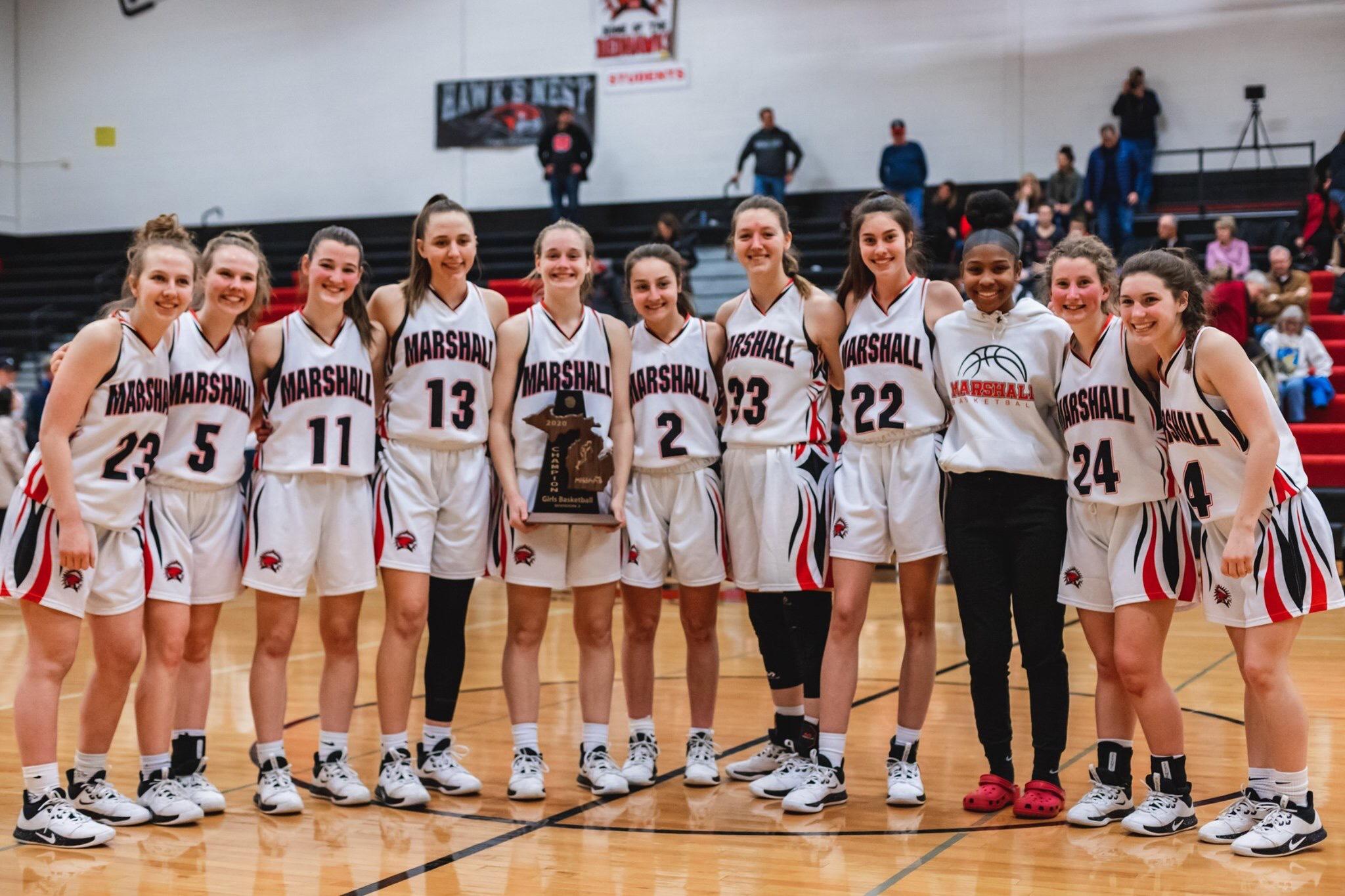 Marshall Girls Basketball Honors