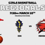 Girls Basketball Regional Information!  Go Redhawks!
