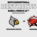 Boys Basketball at Harper Creek 6:00 PM 3/11/12