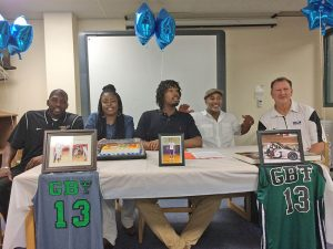 Spencer Franklin signs with Collin County Community College