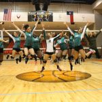Volleyball loses in Bi-District Round, jumping to get started next year!