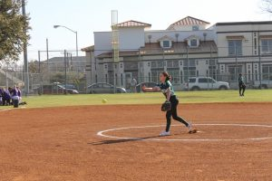 Softball vs Chisholm Train Game 1