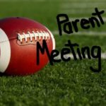 Football parent meeting and cookout!
