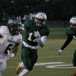 South Hills gives Tech first district loss, Bulldogs look forward to YMLA game Sept 30th and Handley. Pictures included.