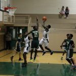Sub-varsity boys basketball plays games on Wednesday, a night when scores really didn't matter.