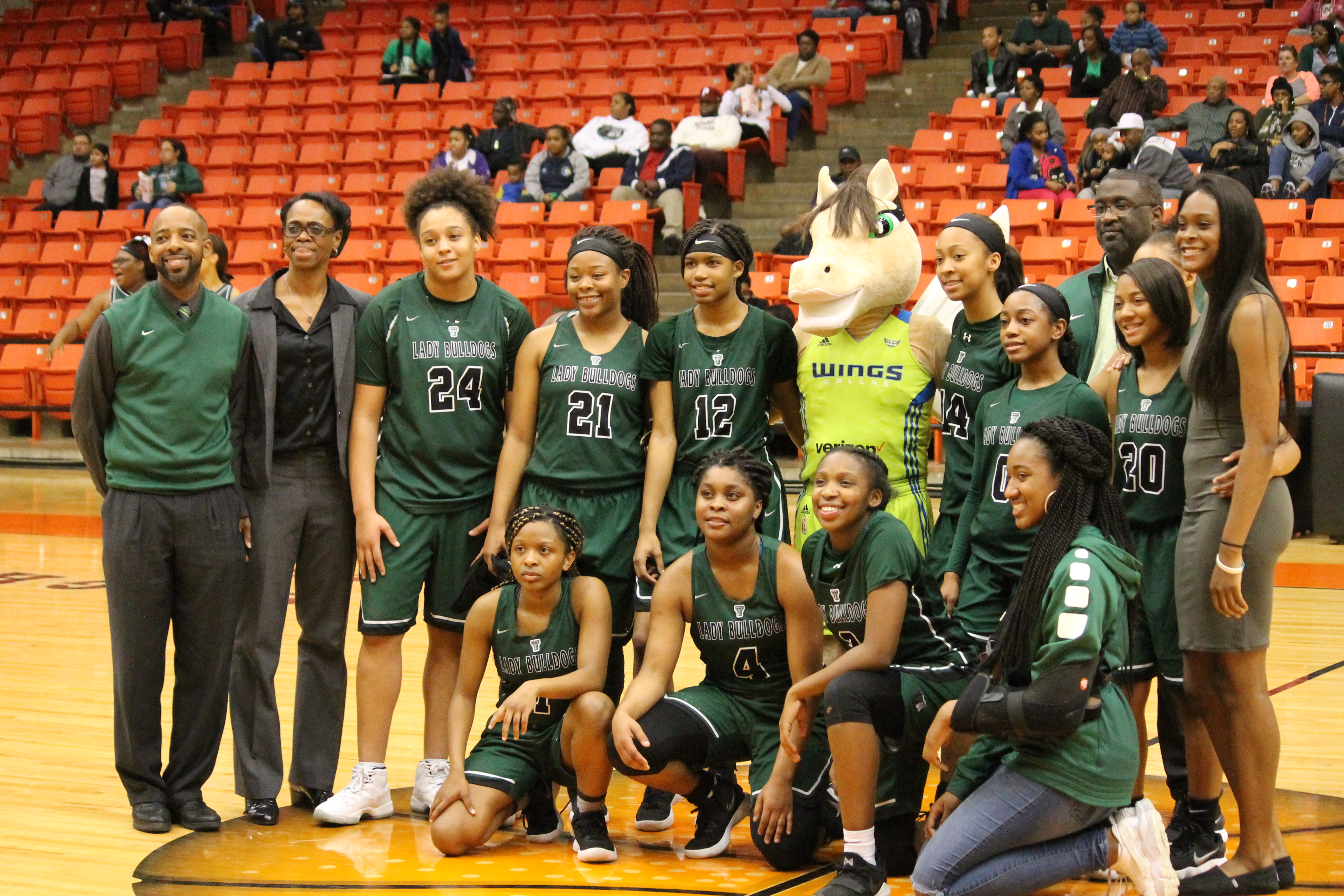Lady Bulldogs one win away from 7-5A Dist. Championship, High Flying Bulldogs have to refocus after OT loss to important OD Wyatt game Friday. Pictures of both girls/boys games included.