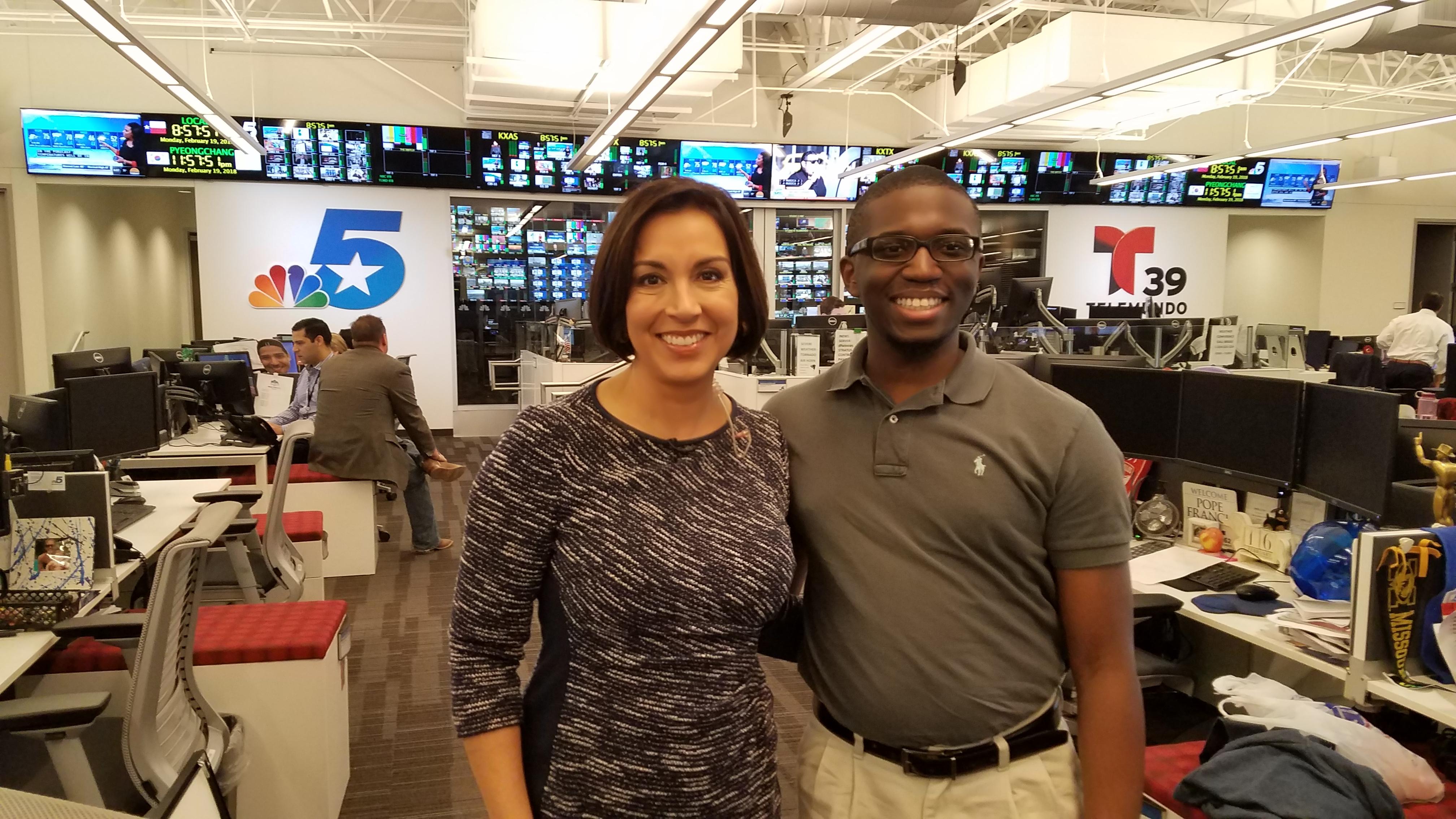 March Tech Alumni Watch – Award winning NBC 5 anchor/reporter Deborah Ferguson
