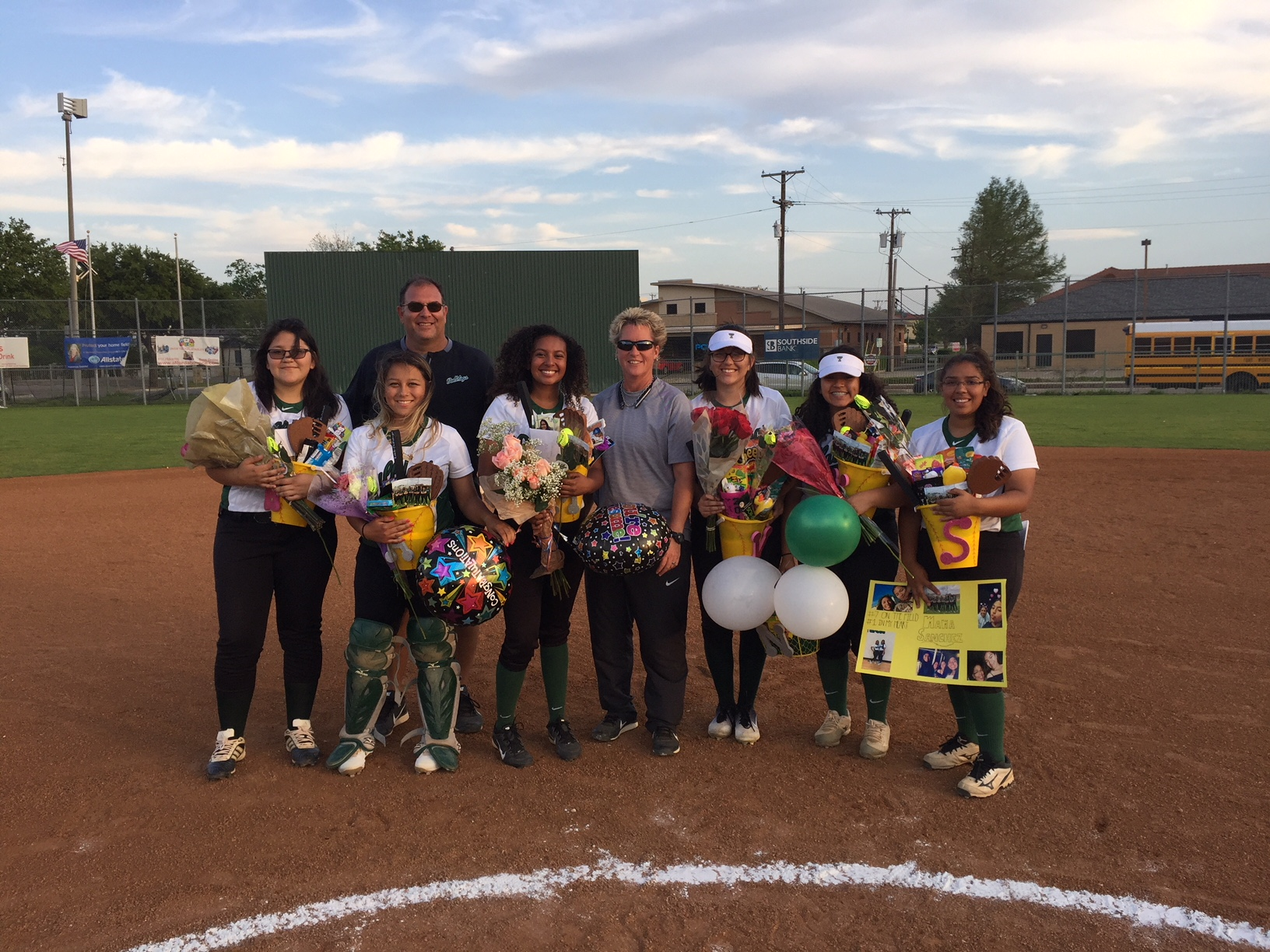 Lady Bulldogs celebrate Senior Night with a victory over OD Wyatt, one win away from Play-offs!