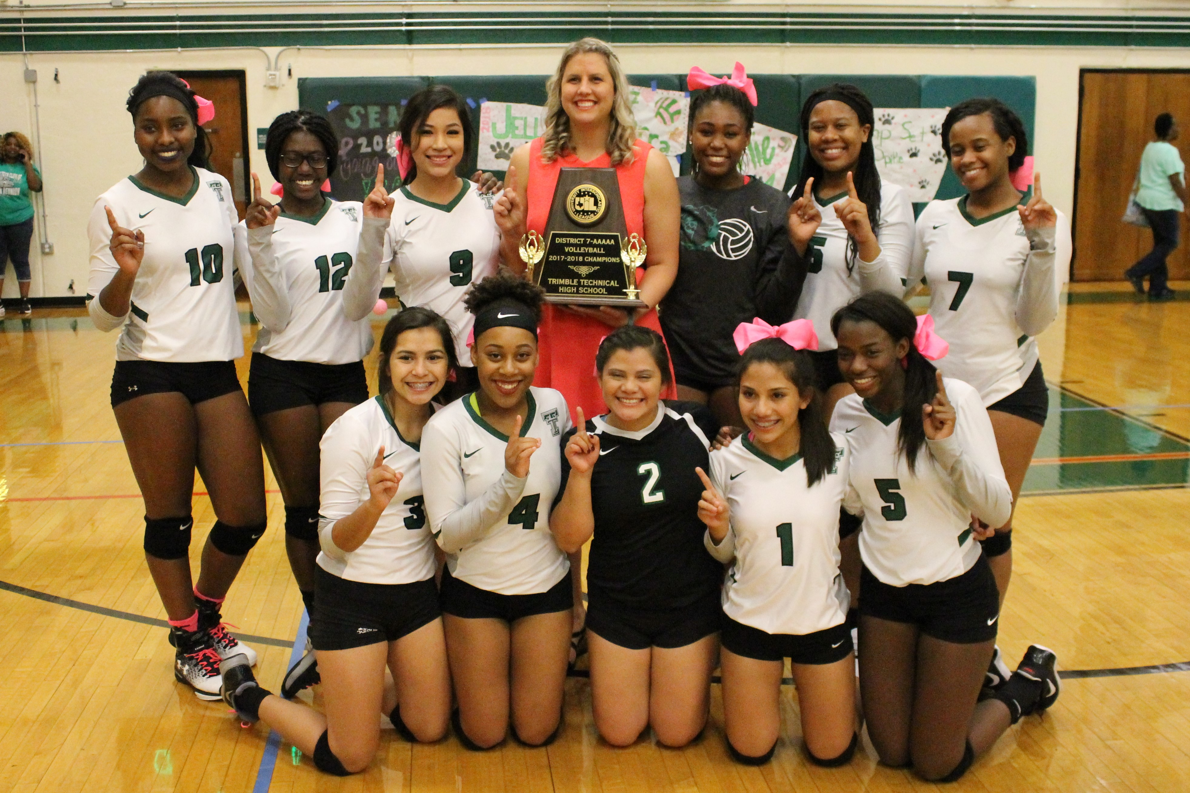 Trimble Tech's Volleyball Team is excited to make the jump to 6A for 2018, information about summer workouts and the 2018 schedule already released. Please check on the information and come ready to take it to 6A!