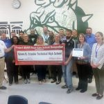 Trimble Tech has been distinguished as a Heart Safe School, great job Bulldogs!