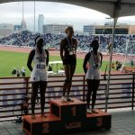 Just a sophomore and Kenondra Davis brings home Silver from the 6A UIL State Track Meet a year removed from medaling at the 5A classification.