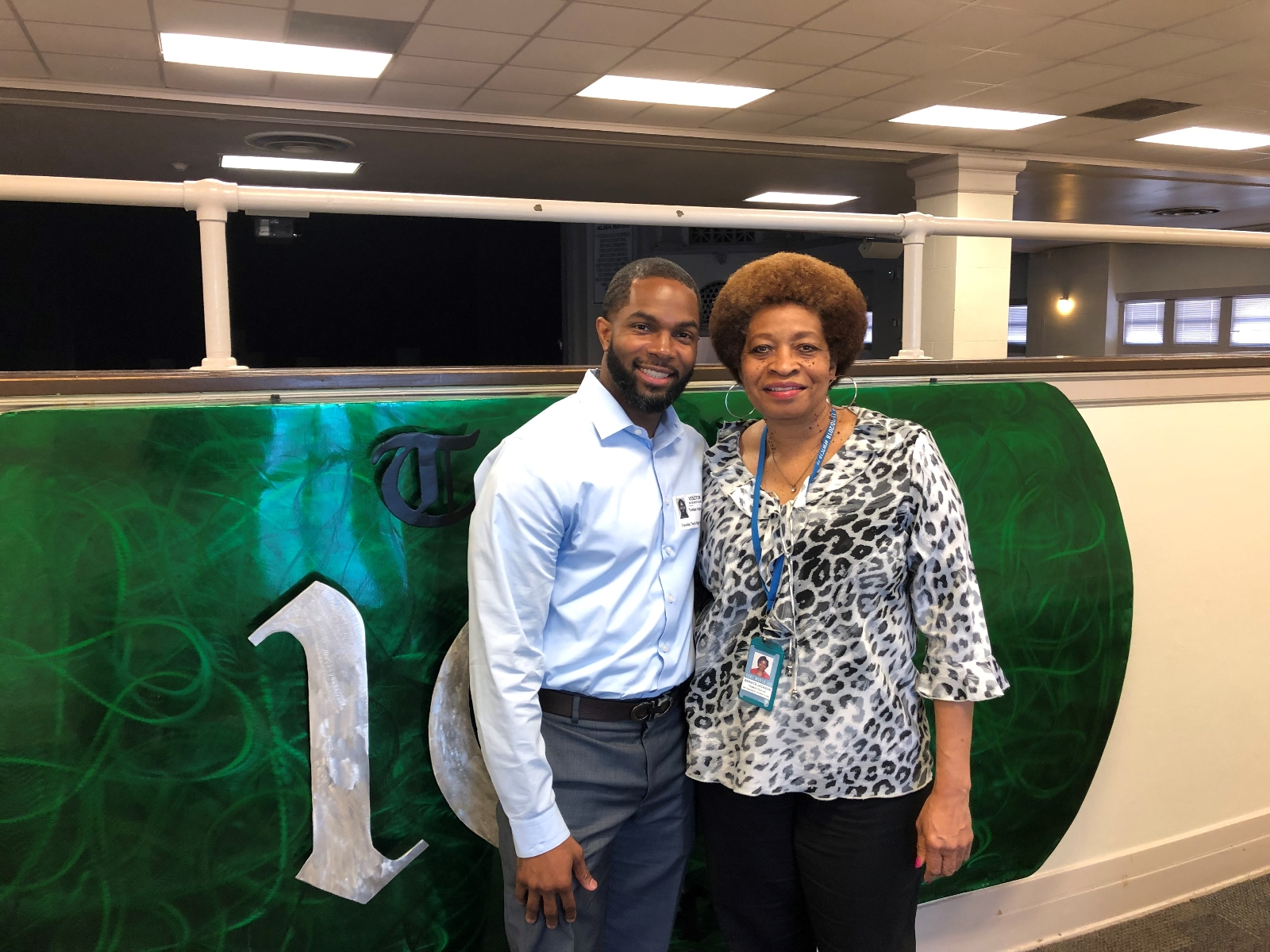 May Alumni Watch – former troubled athlete now a doctor giving back to his alma mater, Dr. Tristan Washington