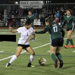 Trimble Tech Lady Bulldog Soccer season kicks of with next years district opponent South Hills, both teams looked good!