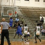 The North Crowley Basketball Teams came to Billingsley Field House to stay alive and on top of District 4-6A. Pictures of both games included.
