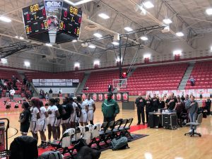 Girls Basketball Play-off vs Haltom Bi-District