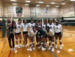 Trimble Tech Volleyball in a good position heading into the second half of the season with win over South Hills. Pictures of game included.