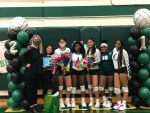 Trimble Tech Volleyball honors their seniors with a win against OD Wyatt, prepares for play-offs with three games left!