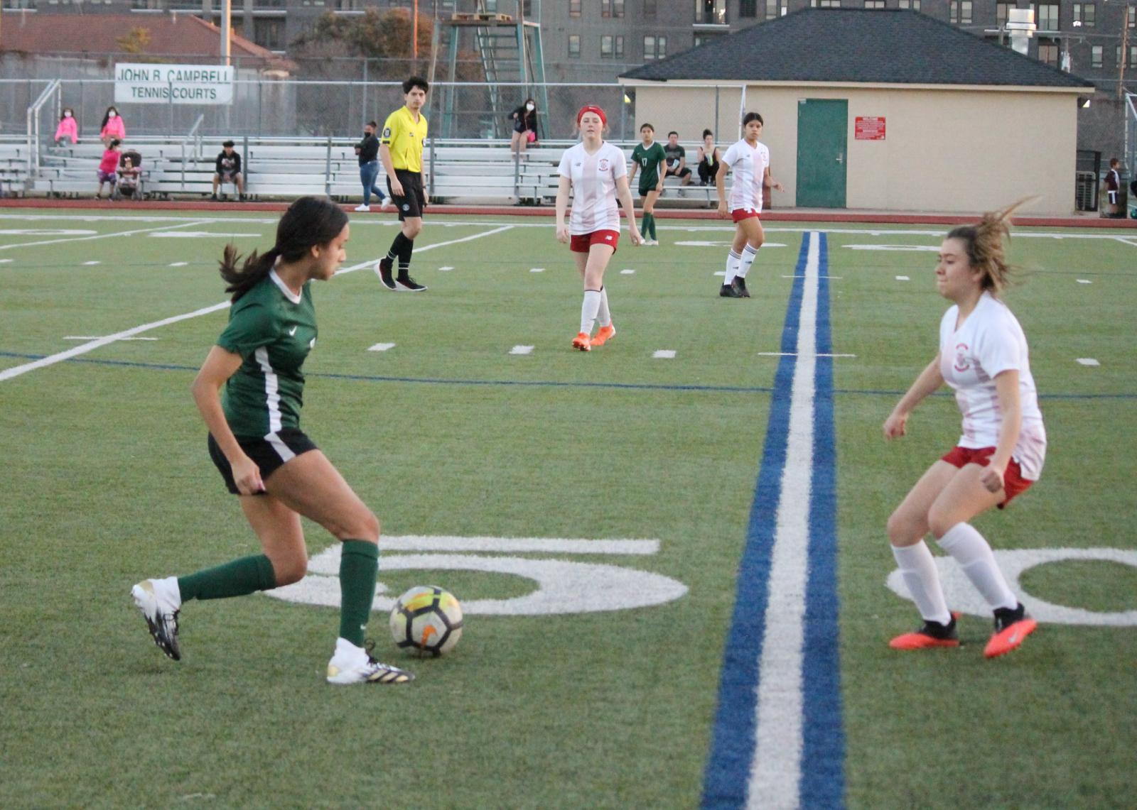Trimble Tech Girls Soccer vs Southwest 2/23/2021