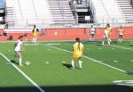 Lady Bulldog Soccer vs Burleson Bi-Dist. Play-off Game, assist to Coach Rudolf with sharing her photos