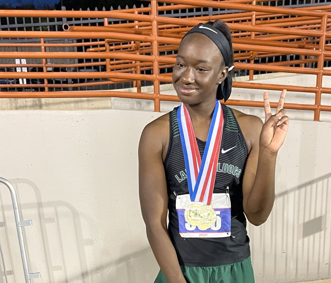 Kenondra Davis solidified herself at Trimble Tech Track Royalty this weekend at the State Track Meet bring back Gold in the 100/200 meters in record time!