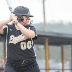 Cedar Grove High School Varsity Softball beat Livingston High School 2-0