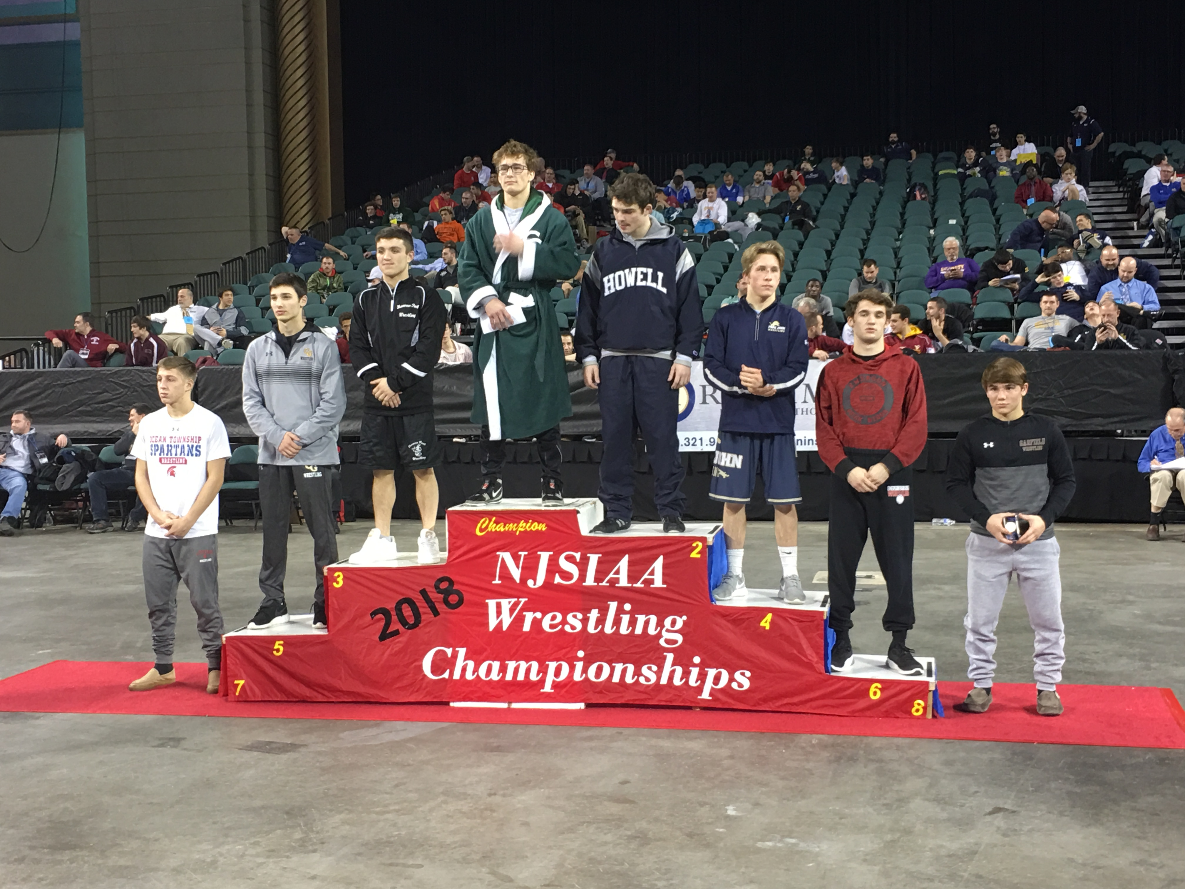 Anthony Clarizio earns 5th place at NJSIAA State Finals; Joe McCarthy goes 2-2