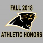 2018 Fall Athletic Honors