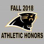 2018 Fall Athletic Honors